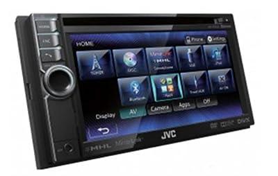 JVC KW-NSX600E Doppel-DIN AV-Receiver mit Bluetooth (15,5 cm (6,1 Zoll) Touchscreen, MP3/WMA/WAV, MHL, HS-IVi-Tuner) schwarz von JVC auf Reifen Onlineshop