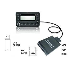 aux adapter interface vw audi rcd 200 210 300 310 500 usb. Black Bedroom Furniture Sets. Home Design Ideas