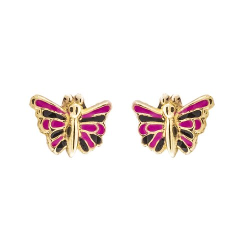 14k Gold Baby Earrings