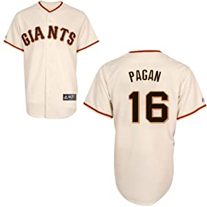 Angel Pagan San Francisco Giants Home Replica Jersey by Majestic Select Size: Medium by majestic
