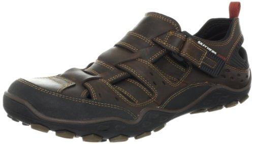 Skechers PebbleHideo Sandals Men brown Braun (BRN) Size: 9.5 (44 EU)