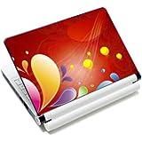 Luxburg® Design skin de protection sticker film autocollant pour ordinateur portable 10 / 12 / 13 / 14 / 15 pouces, motif: Motif bariolé