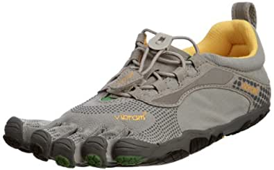 Vibram FiveFingers Womens Bikila LS Athletic Shoes,36 M EU,Grey/Green/Black