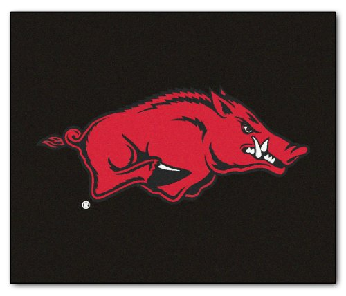 Arkansas Razorbacks 5'x6' Tailgater Floor Mat (Rug) at Amazon.com