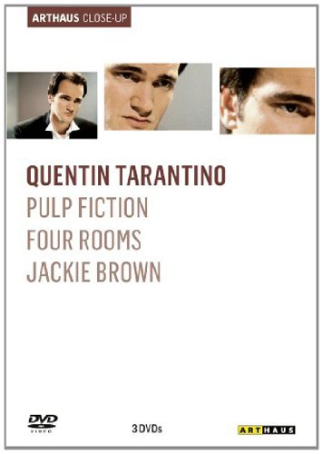 Quentin Tarantino Arthaus Close-Up ( Pulp Fiction / Four Rooms / Jackie Brown ) [3 DVDs]