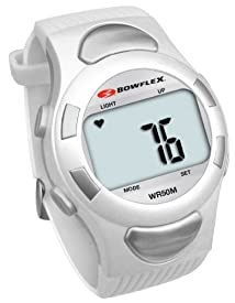 Bowflex Strapless Heart Rate Monitor Watch EZ Pro (White)