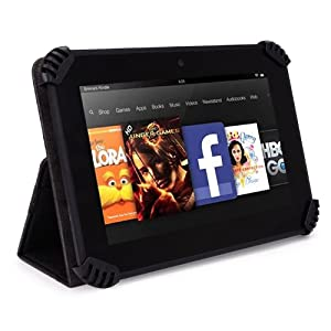 "Trio Stealth G2 7"" Tablet Case - UniGrip Edition - BLACK"