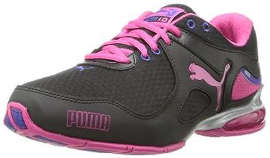 PUMA Women's Cell Riaze Cross-Training Shoe,Black/Spectrum Blue/Beetroot Purple,7.5 B US