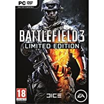 Battlefield 3 - Limited Edition - PC-DVD Import - Free Action Game with Every Purchase