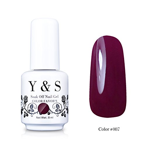 Yaoshun-Gelpolish-Soak-off-Gel-Nail-Polish-UV-LED-Nail-ArtBeauty-Care-8ml-087
