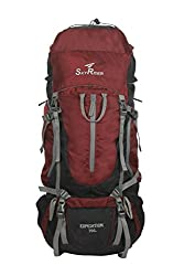 SkyRider Expedition 70 Ltrs Rucksack ,Trekking bag & Hiking Bags with Rain Cover & Steel Frame