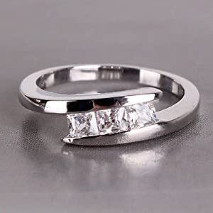 Homme Men Wedding Ring Anel WH033 18k gemstone rings sterling silver
