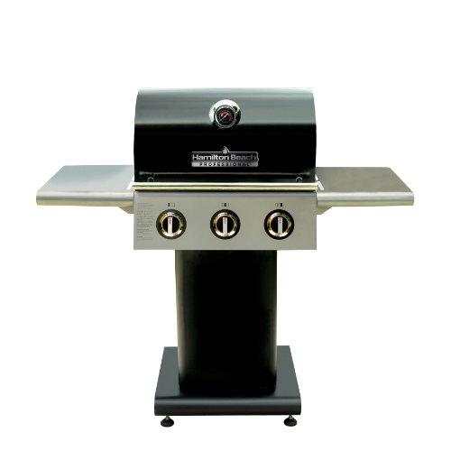 Hamilton Beach 84131 3-Burner Pedestal Gas Grill