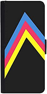 Snoogg to the right 2466 Graphic Snap On Hard Back Leather + PC Flip Cover LG Nexus 5