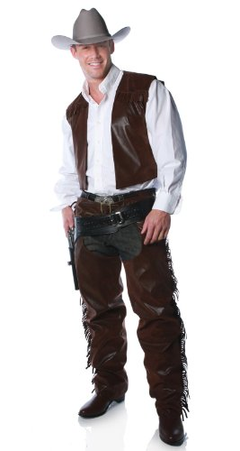 Cowboy Chaps - One Size - Chest Size 42-46
