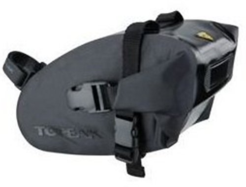 Topeak Wedge Dry Bag Strap - Waterproof Saddle Bag (Size: M) front-711241