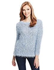 M&S Collection Fluffy Jumper