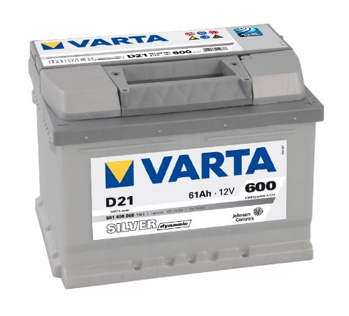 VARTA SILVER DYNAMIC AUTOBATTERIE D21 12V 61AH