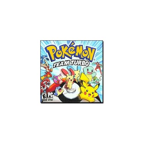 Amazon Com Pokemon Team Turbo Jewel Case Pc