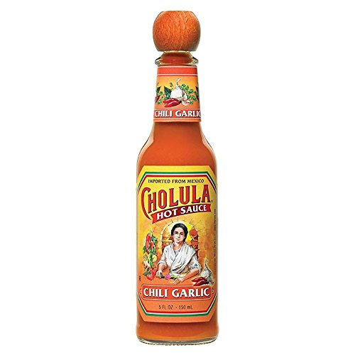 Cholula Hot Sauce mit Knoblauch Mexican (150 ml) - Packung mit 6