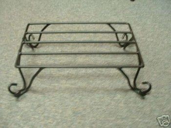 Wrought Iron Table Top Stand-Amish Made