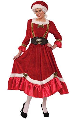 Jolly Mrs Santa Claus Christmas Adult Costume