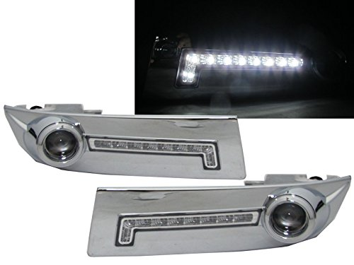 CrazyTheGod LAND CRUISER PRADO FJ120 2002-2009 Projector Fog Light Lamp CHROME for TOYOTA (Toyota Prado Lights compare prices)
