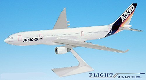 Airbus Demo (87-05) A330-200 Airplane Miniature Model Plastic Snap Fit 1:200 Part# AAB-33020H-005 by Genesis Worlwide