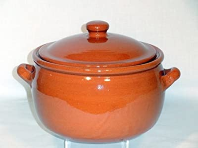 Genuine Terracotta 5l Casserolestew Pot - Classic Colour from Be-Active