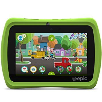 LeapFrog-Epic-7-Android-based-Kids-Tablet-16GB-Green-Certified-Refurbished