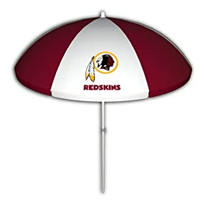 Washington Redskins 72-Inch Beach/Tailgate Umbrella from Seven Sons Rainmate Rainwear
