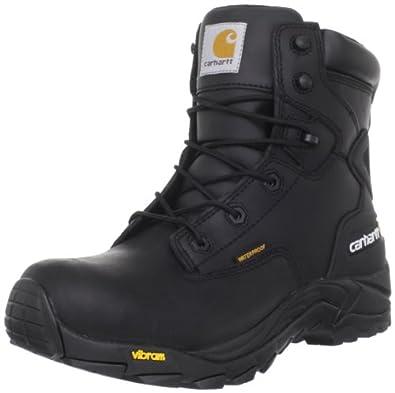 Carhartt Men's CMH6111 6 Work Boot,Black Oil Tanned,8 M US