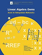 LINEAR ALGEBRA GEMS: ASSETS FOR UNDERGRADUATE MATHEMATICS