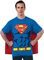 DC Comics Superman Costume T-Shirt With Cape