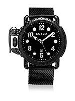 So&Co New York Reloj con movimiento cuarzo japonés Man Right Handed 48 mm
