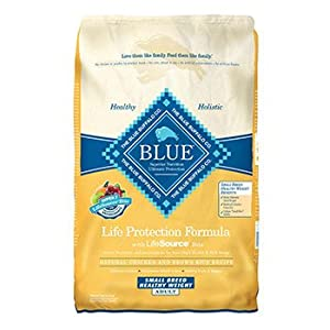 Blue Buffalo Healthy Weight Chicken and Brown Rice Recipe for Small Breeds Dry Dog Food, 15-Pound