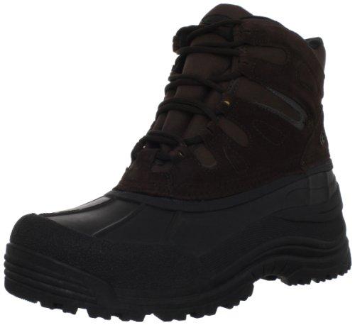 Northside Men's Chinook Waterproof Snow Boot,Dark Brown,12 M US