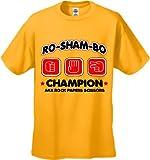 Ro-Sham-Bo Champion T-Shirt :: Rock Paper Scissors #1377