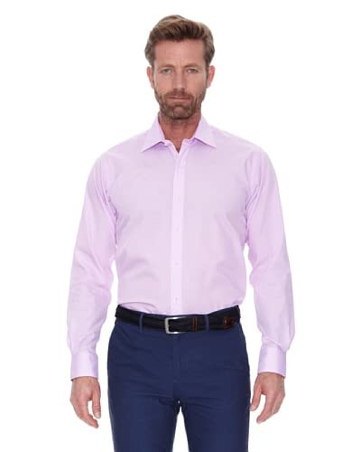 Cortefiel Camisa Cuadro Vichy Peq Rosa