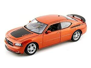 Welly - 18003or - Véhicule Miniature - Modèles À L'échelle - Dodge Charger Daytona - 2006 - Echelle 1/18