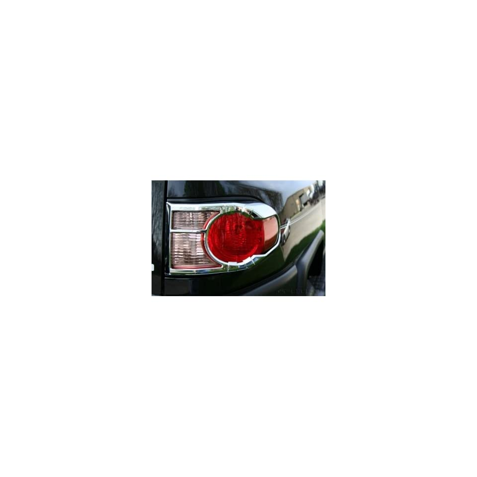 Putco 400852 Chrome Tail Light Cover for Select Toyota Models