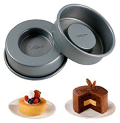 Wilton Tasty Fill Set of 4 Mini Cake Pan Set at Amazon.com