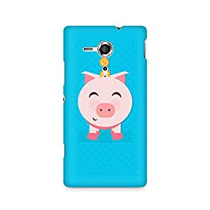 Ebby Pig Money Premium Printed Case For Sony Xperia SP M35H