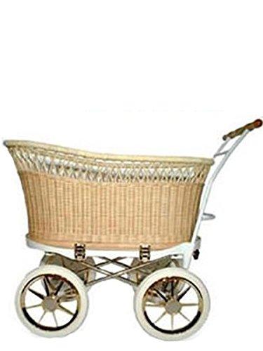 【どこか懐かしく、優雅なベビーカー】プスプス スタンダード 本体 (台車+バスケット+敷きマット)