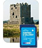 Satmap MapCard: Dumfries Galloway(East) (OS 25k, 10k)