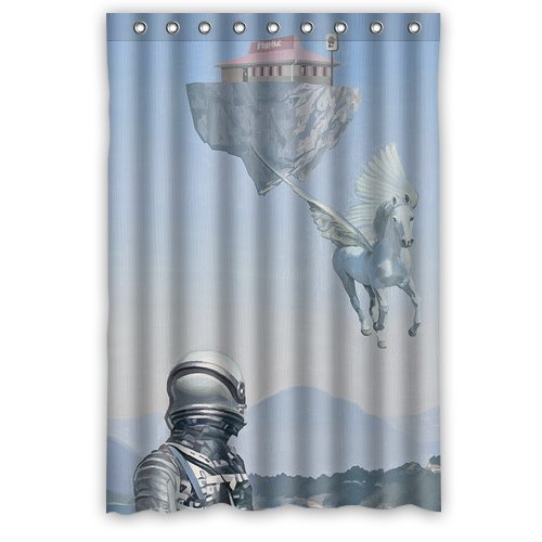 floating-island-pizza-hut-unique-custom-diy-print-shower-curtains-36-by-72
