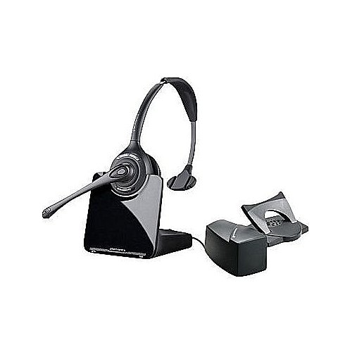 Plantronics (84691-11) Wireless Dect 6.0 Monaural Noise Canceling Headsets With Handset Lifter