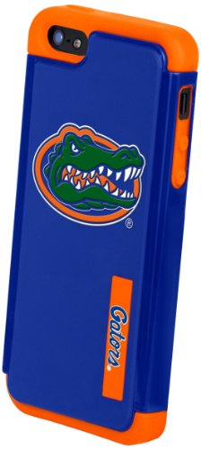 Best Price Forever Collectibles NCAA Florida Gators Dual Hybrid Hard Apple iPhone 5 / 5S Case