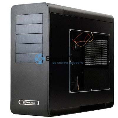 Silverstone Fortress FT02B-W Black Full tower Gaming Case with Window (No PSU)