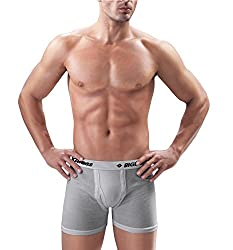Dollar Bigboss Men Cotton Long Trunk (Pack Of 4) (BIGBOSSLONG_Assorted_95)